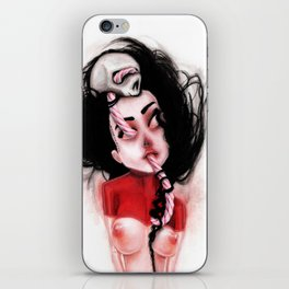 Candy Cane Blood iPhone Skin