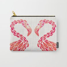 Miami Flamingo – Pink Ombré Carry-All Pouch