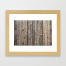 Boards Framed Art Print