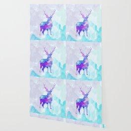 Abstract Deer II Wallpaper
