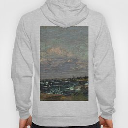 Tom Thomson Windy Day- Rough Weather in the Islands 1914. Canadian Landscape Artist Hoody