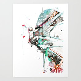 Burbage Art Print