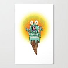 Why- Scream Canvas Print