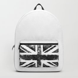 Black UK flag Backpack