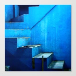 Out of the Blue Series Canvas Print