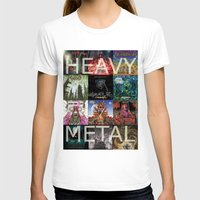 heavy metal T-shirts featuring Heavy Metal by Michael Keene