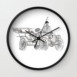 Transported back to 1907! Wall Clock