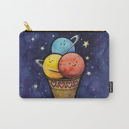 Space Ice Cream Cone Carry-All Pouch