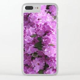 Azalea amaze Clear iPhone Case