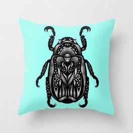 BeetleBUG Throw Pillow