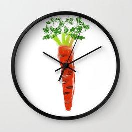 carrot Wall Clock
