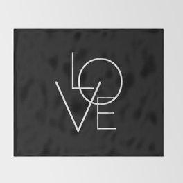 Love Throw Blanket