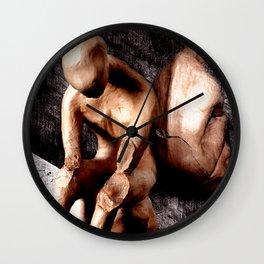 non visual communication Wall Clock