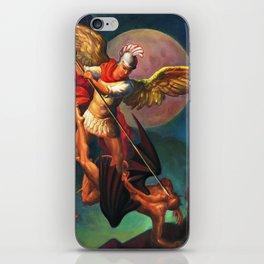 Saint Michael the Warrior Archangel iPhone Skin