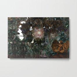 The Threshold of Death (Alchemical Garden) Metal Print
