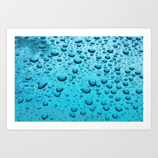 Blue Morning... Art Print