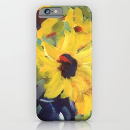 Sage and Sunflowers iPhone Case