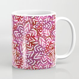 I don't need to improve - Pink and red Coffee Mug