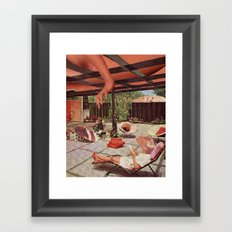 Lazy Saturday Framed Art Print
