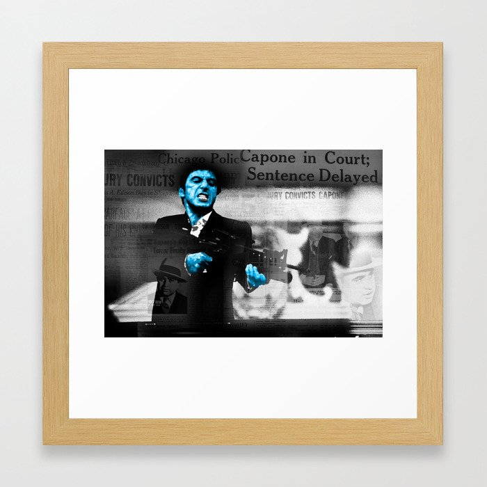 Modern Scarface Pictures In Frames Elaboration - Frames Ideas ...