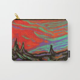 Sunset Forest Carry-All Pouch