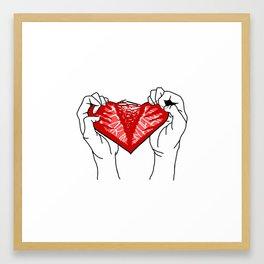 TwentyOnePilots - Tear In My Heart Framed Art Print