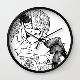 LOVE BUZZ Matriarch Wall Clock