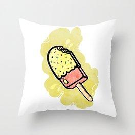 Ice Cream III Throw Pillow