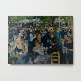 Auguste Renoir - Dance at Le Moulin de la Galette Metal Print