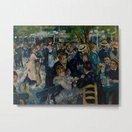 Auguste Renoir - Dance at Le Moulin de la Galette Metal Print