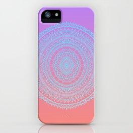 Rainbow Mandalla iPhone Case
