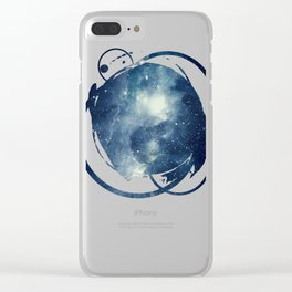 Galaxy Next Door Clear iPhone Case