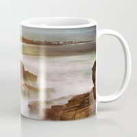 calm Mugs featuring Calm by SpaceFrogDesigns