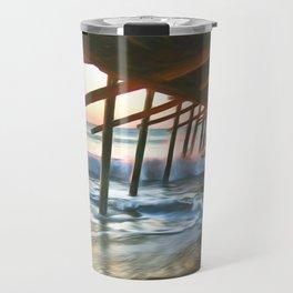 Bogue Inlet Sunrise Travel Mug