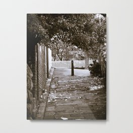 Cobblestone Path Metal Print