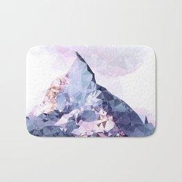The Crystal Peak Bath Mat