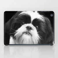 shih tzu iPad Cases featuring Shih Tzu Dog by ritmo boxer designs