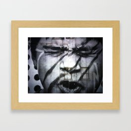 Pouting Framed Art Print