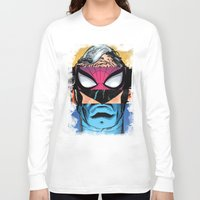 comic book Long Sleeve T-shirts featuring Comic by Molnár Roland