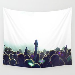 cncert crowd Wall Tapestry