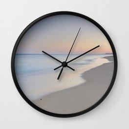"""""""Ocean dreams"""". Praia Do Porto Mos. Algarve. Portugal Wall Clock"""