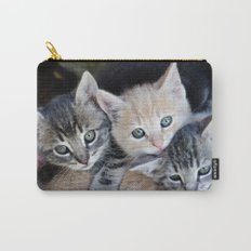 Kittens, 3 balls of tenderness Carry-All Pouch