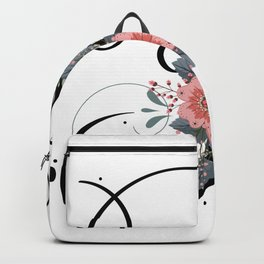 Letter F of the alphabet Backpack