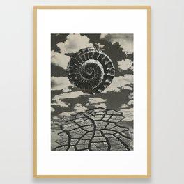 Brim Framed Art Print