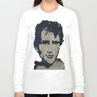 kerouac Long Sleeve T-shirts featuring Jack Kerouac: Get On The Beat  by Emily Storvold