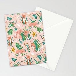 Endangered Wilderness - Blush Pink Stationery Cards