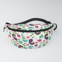 Stylized Trees Fanny Pack