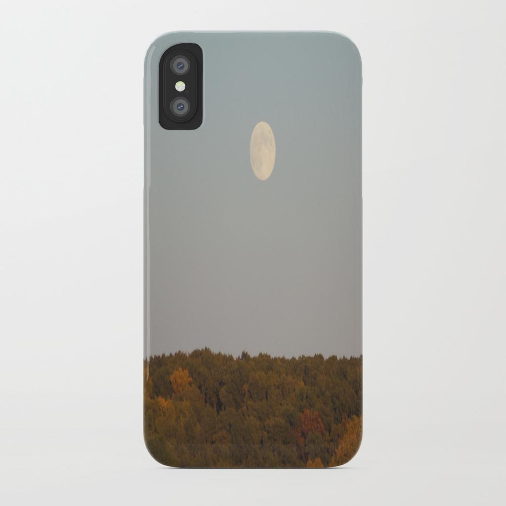 Hello Fall, Hello Moon Phone Case by Jetunall PCS8853903