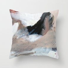 In the clouds. Throw Pillow
