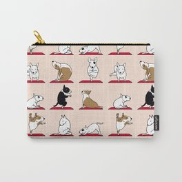 Bull Terrier Yoga Carry-All Pouch